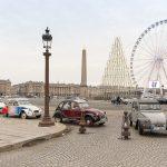 Rallye entreprise en 2CV à Paris
