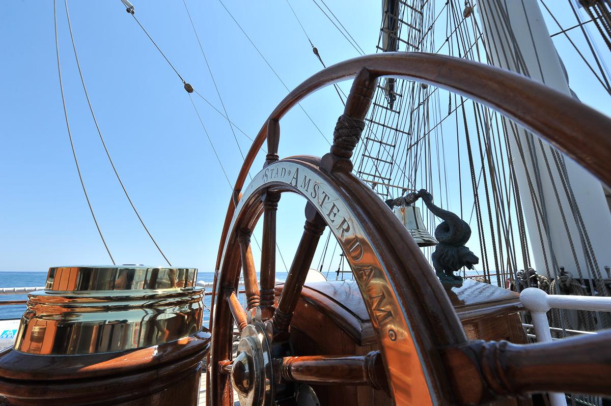 Mission photo à bord du clipper Stad Amsterdam Randstad