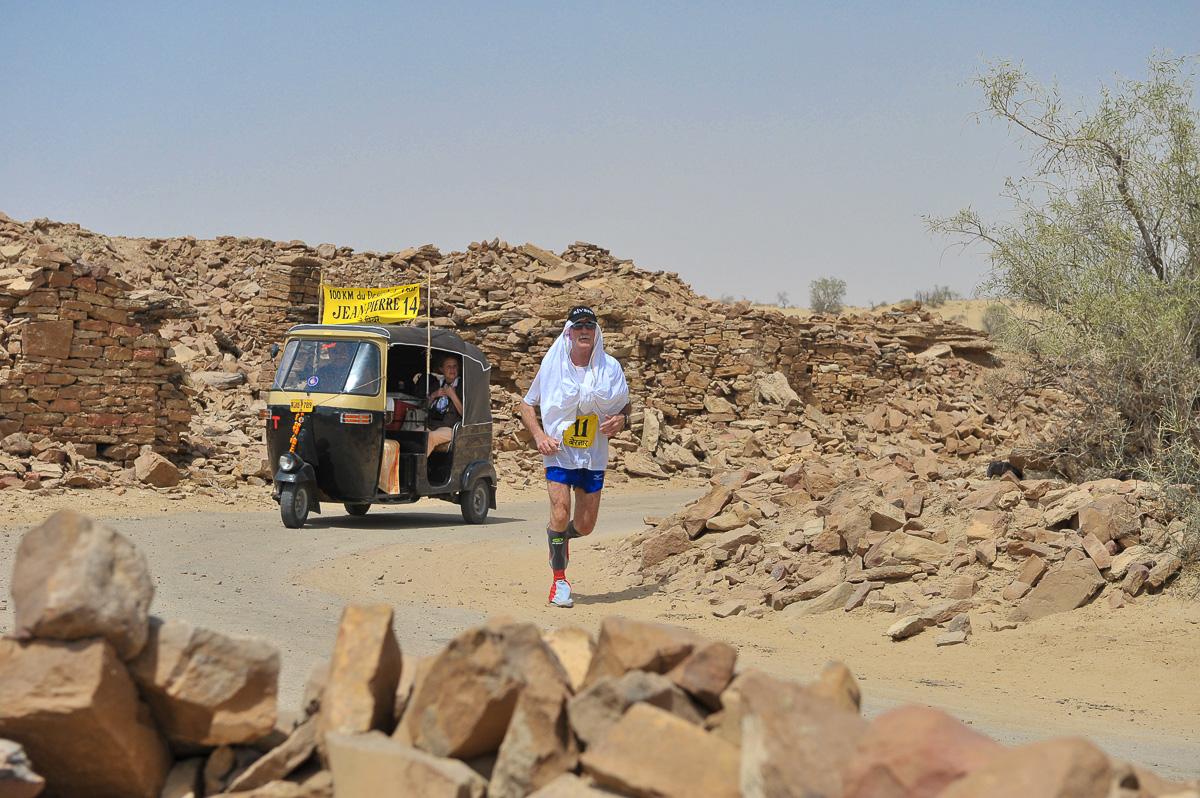 10 km du désert du Thar (Rajasthan - Inde)