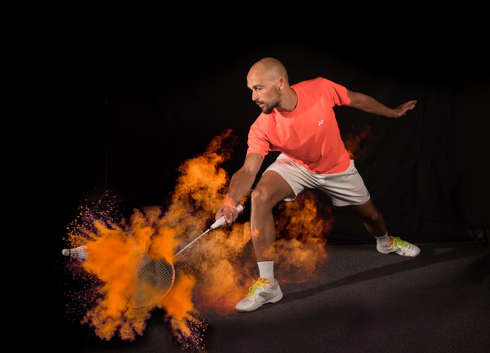 Vincent Espen - Badminton - © Vincent Kriéger