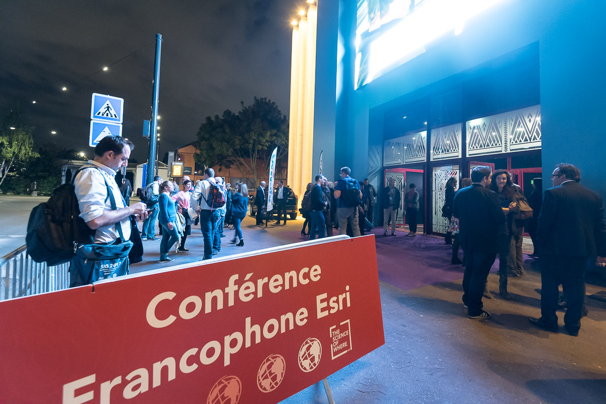 SIG 2017 (Système d'information géographique) - La Conférence Francophone Esri